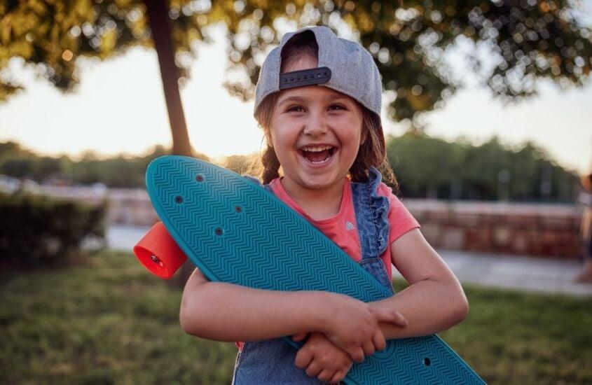 Skate para meninas: Ande como uma garota!