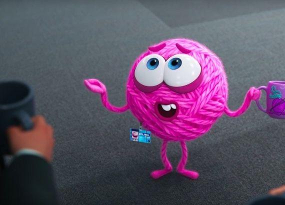 Curta metragem de animação da Pixar. Purl