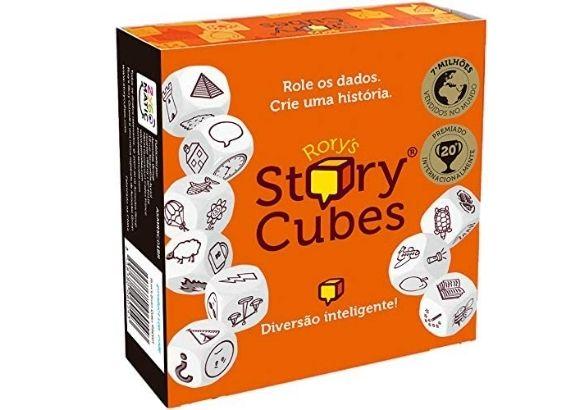 Jogos de tabuleiro para família. Rory's Story Cubes