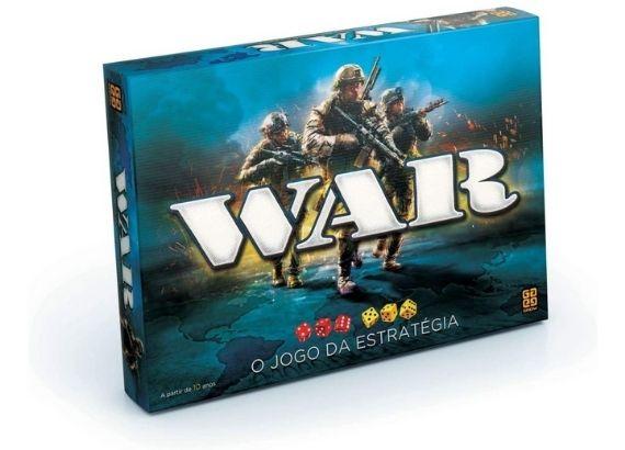 Jogos de tabuleiro para família. War