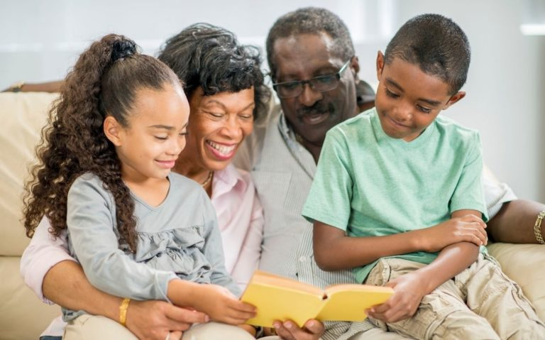 Livros infantis sobre famílias