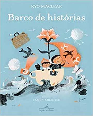 Livros maravilhosos para ler com crianças de 6 a 8 anos. Capa do livro Barcos de histórias