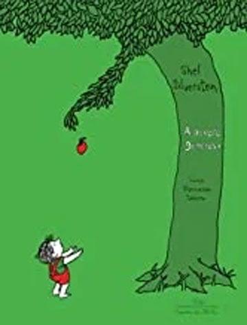 A árvore generosa (autor Shel Silverstein, tradutor Fernando Sabino, editora Companhia das Letrinhas)