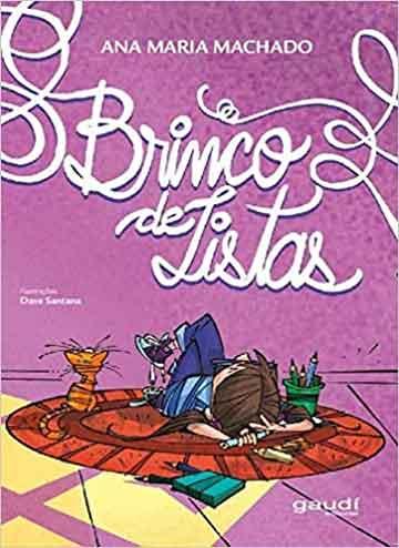 Livros da Ana Maria Machado - capa do livro Brinco de Listas. Livro de poemas para crianças