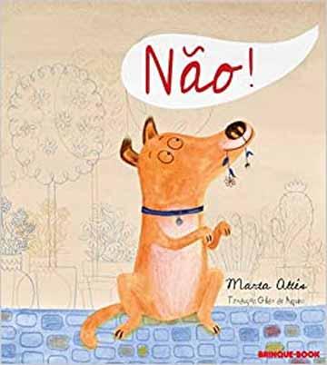 Histórias de animais: capa do livro Não!