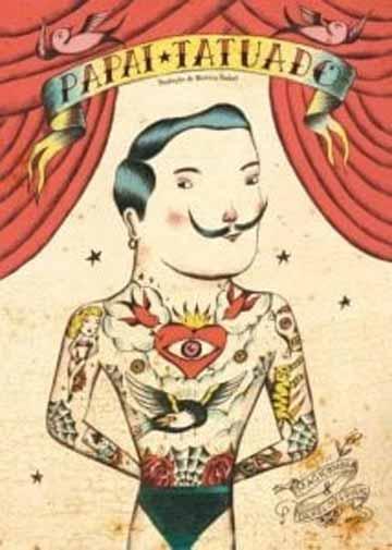livros paternidade: papai tatuado