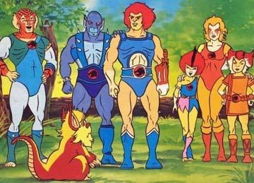 desenhos dos anos 80. thundercats